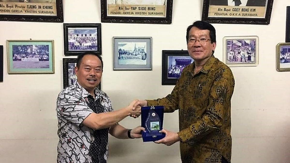 Kunjungan dari STT Amanat Agung Jakarta