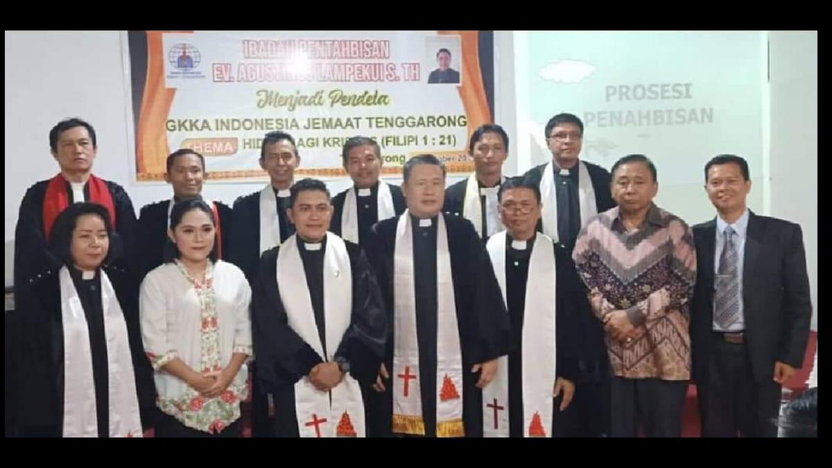 Pelayanan MPHS di GKKAI Jemaat Tenggarong