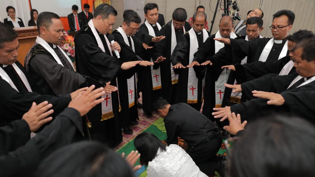 Pelayanan MPHS di GKKAI Jemaat Lambing
